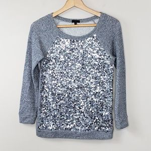 J. Crew Collection Haya Sequin Pullover